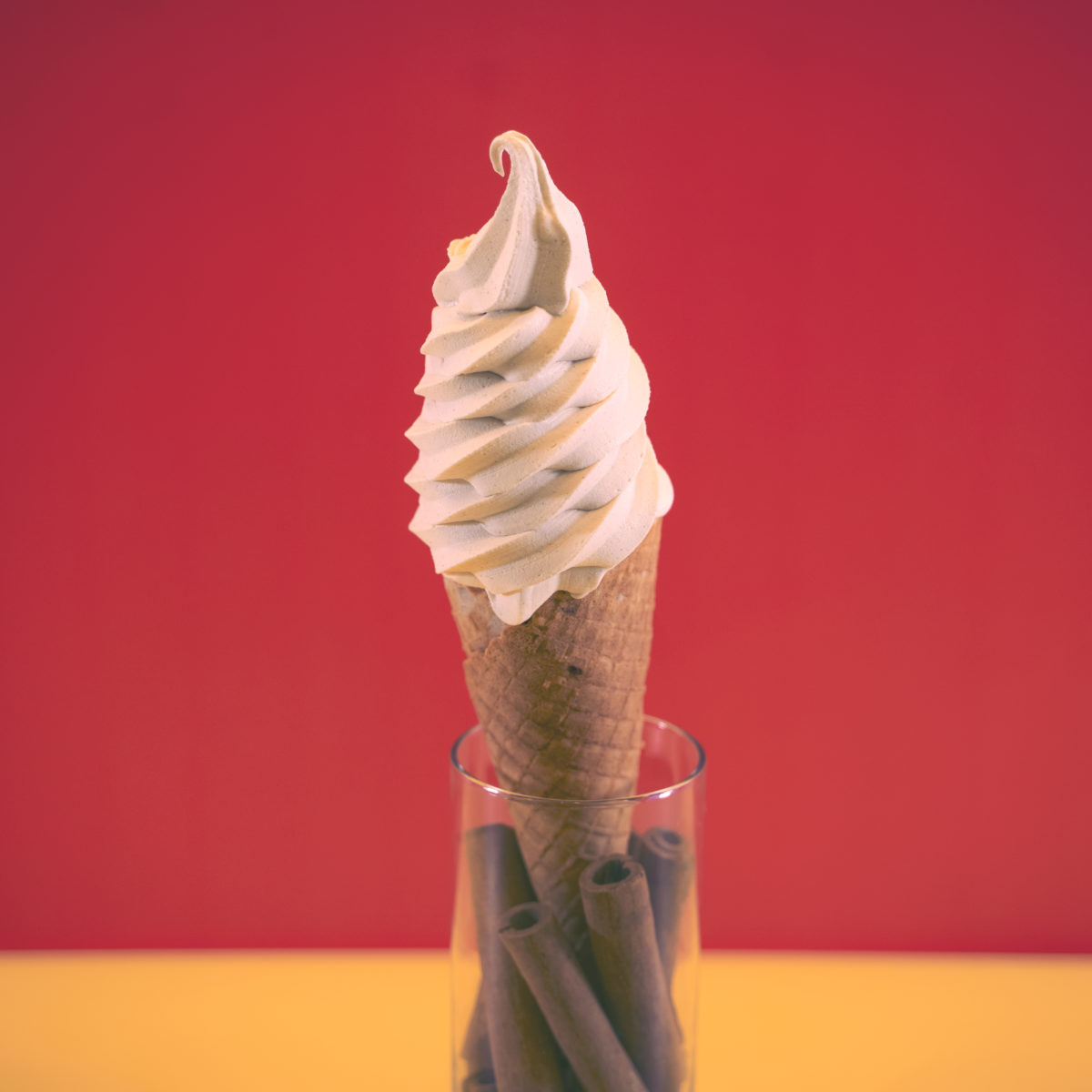 Cinnamon Soft Serve 2