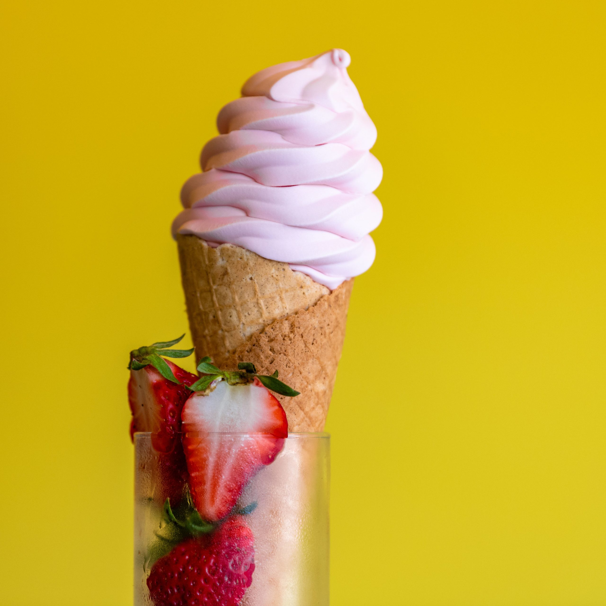 Strawberry Soft Serve 1
